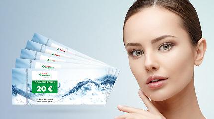 """Veido ir plaukų priežiūra: įveikite 10 klausimų testą ir laimėkite """"Eurovaistinės"""" kuponus"""