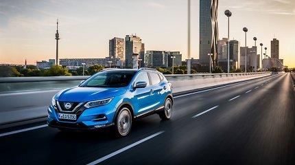 """""""Nissan"""" išleidžia naują 1,3 litro benzininį variklį – siekia ir toliau didinti """"Qashqai"""" patrauklumą"""