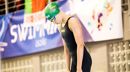 Kylanti plaukimo žvaigždė – 16-metė pagerino Lietuvos jaunimo rekordą