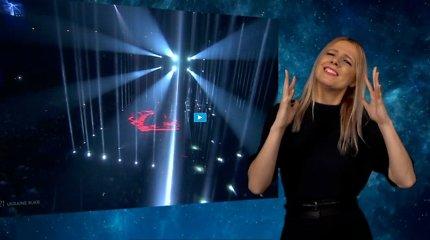 """""""Eurovizijos"""" sensacija tapusi gestų kalbos vertėja Laura Valytė išvers komediją """"O, ne! O, taip!"""""""