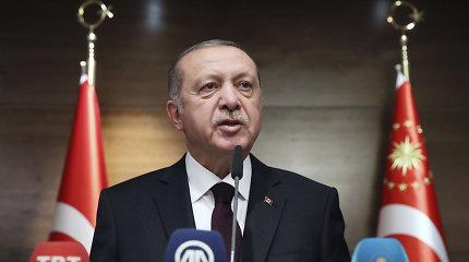 Turkijos lyderis kaltina Sirijos režimą sabotuojantAnkaros ir Maskvos susitarimą