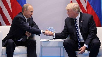 """Į """"Time"""" metų žmogaus titulą pretenduoja V.Putinas ir D.Trumpas"""