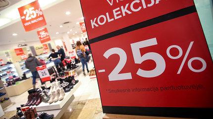 Akcijų Lietuva: ekspertas pastebi, kad kai kurios prekės be nuolaidų neperkamos