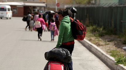 Popiežius skyrė 500 tūkst. JAV dolerių paramą migrantams Meksikoje