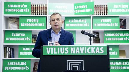 Kandidatas į Vilniaus merus V.Navickas pristatė rinkimų programą: siūlo dviejų lygių savivaldą