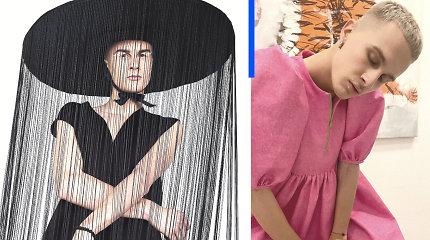 """Su suknelėmis pozuojantis modelis Lukas: """"Suknelė manęs, kaip vyro, nesumenkina"""""""