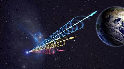 Dirbtinis intelektas aptiko 72 nežinomos kilmės signalus iš vieno taško tolimajame kosmose