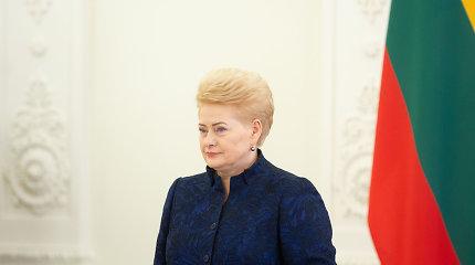 D.Grybauskaitė vetavo Seimo pataisas, įpareigojančias steigti seniūnijas