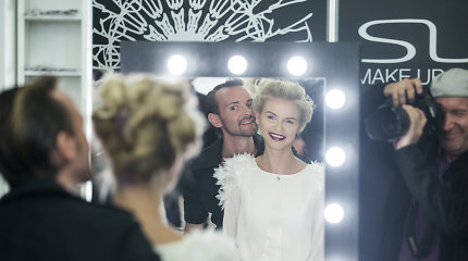 """Plaukų stilistas Andrius Jurkevičius """"Fashion Vilnius Expo 2015"""" parodoje"""