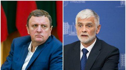 VRK nutraukė parlamentarų įgaliojimus merais išrinktiems V.Gailiui ir B.Markauskui