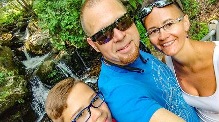 Kristinos ir Tomo netobulos šeimos laimės receptas: santuoka reiškia sprendimą daugiau nesirinkti