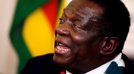 """Zimbabvės prezidentas gina """"laisvus, sąžiningus ir patikimus"""" rinkimus"""