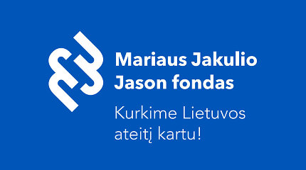 Veiklą pradeda ne pelno siekiantis M.Jakulio Jason fondas