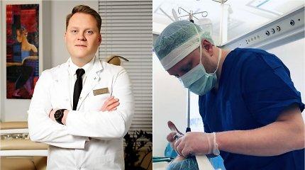 Metų gydytoju Santaros klinikose išrinktas S.Kaupas: pirštą prisiūti techniškai sunkiau nei dalį rankos
