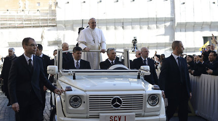 Popiežiaus vizito metu – nemokamos požeminės automobilių aikštelės Vilniaus centre