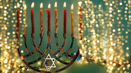 Kas yra Chanuka ir kodėl žydai ją švenčia?