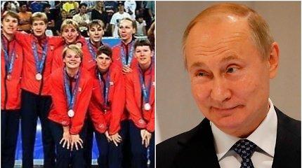Laimėjusios olimpinį sidabrą patraukė į Kremlių, bet ten išgirdo Vladimiro Putino priekaištą