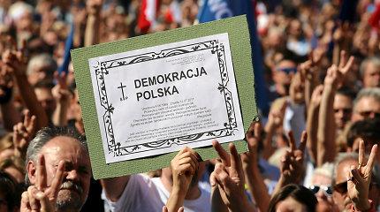 Lenkijos politologas: didžiausia demokratijos problema yra rinkimai