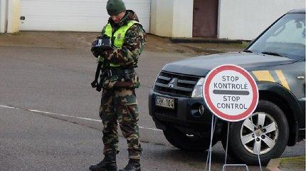 Serbijoje registruotą japonišką mašiną vairavęs baltarusis užstrigo, vos įvažiavęs iš Lenkijos į Lietuvą