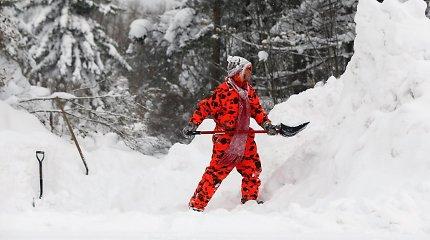 Amerikietės vos nepalaidojo sniegas – ji 13 valandų praleido pusnyje įstrigusioje mašinoje