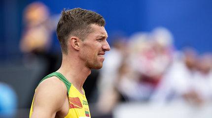 Dar vienas nusivylimas Europos čempionate: atrankos varžybose suklupo ir Raivydas Stanys