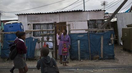 Pietų Afrikos Respublikoje nedarbas pasiekė rekordinį 29 proc. lygį