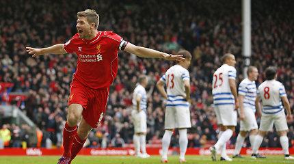 Stevenas Gerrardas baigia futbolininko karjerą