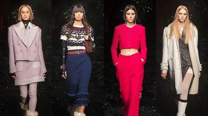 """Slidinėjimo dvasios apgaubta """"Chanel"""" kolekcija pristatyta legendiniame Paryžiaus naktiniame klube"""