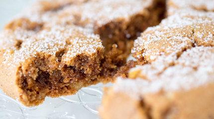 Idealūs šventiniam sezonui – minkšti ir labai imbieriniai sausainiai