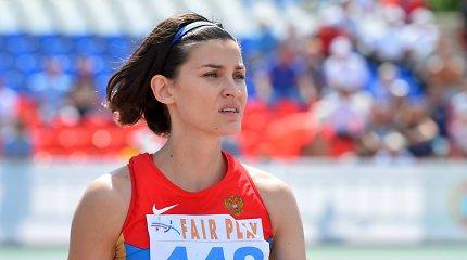 Airinės Palšytės varžovė: po dopingo bylos grįžusi 36 metų rusė šoka įspūdingai