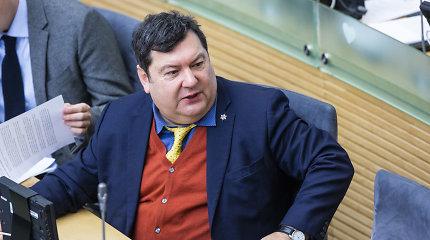 Seimo komandiruočių rekordininkas E.Zingeris keliavo už beveik 50 tūkst. eurų