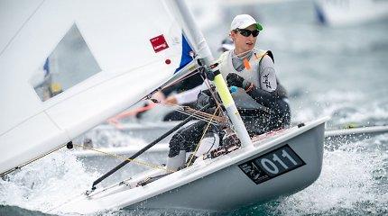 """""""Laser Radial"""" jachtų klasės pasaulio čempionatas Japonijoje"""