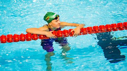 Jaunoji Lietuvos plaukikė įvykdė normatyvą ir pagerino rekordą