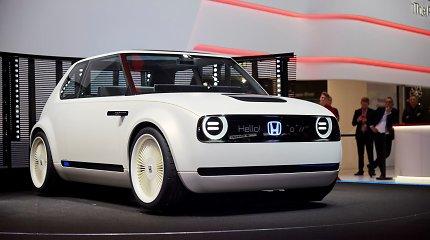 "Ženevos automobilių parodoje – ""Honda"" elektromobilio debiutas"