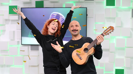 """J.Didžiulis ir E.Jennings kitąmet """"Eurovizijoje"""" nebedalyvaus: """"Mums sunkiai sekasi dirbti kartu"""""""