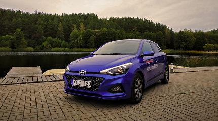 """Miestui sukurtas """"Hyundai i20"""" – maža širdis, bet daug galimybių"""