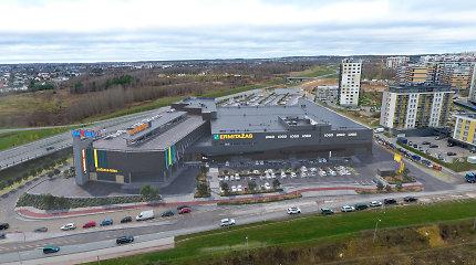 """""""Luminor"""" šalia sostinės Vakarinio aplinkkelio statomam prekybos centrui skolina 20,4 milijono eurų"""