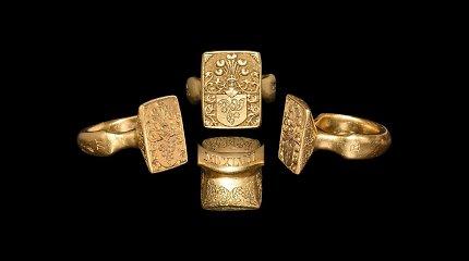 Vokiečių aukcionas galimai meluoja apie parduodamą didiko Mikalojaus Radvilos Rudojo žiedą