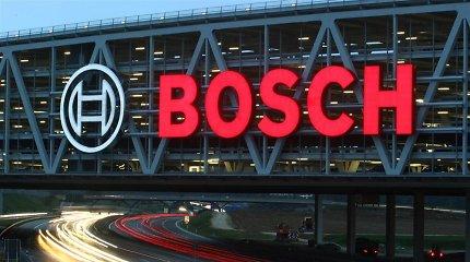 """Vokietijos """"Bosch"""" nuo 2020 metų nebepaliks anglies dioksido pėdsako"""