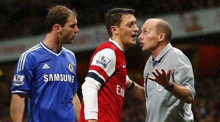 """Arsenal"" ir ""Chelsea"" ekipų mūšis ""Premier"" lygoje"