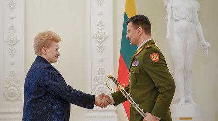 R.Vaikšnorui suteiktas brigados generolo laipsnis
