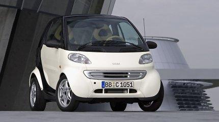 """Ką reiškia miesto automobilio """"Smart"""" pavadinimas?"""