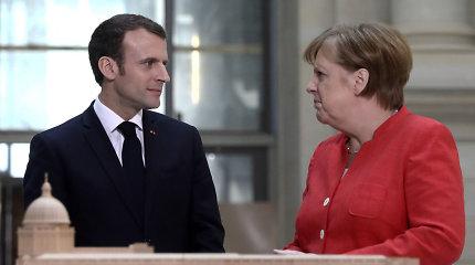 Prieš G7 viršūnių susitikimą E.Macronas susitiks su britų, italų ir vokiečių vadovais