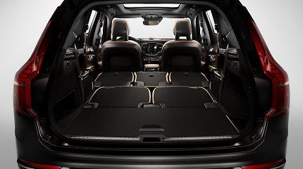 """Kaune iš """"Volvo"""" visureigio pavogta bagažinės užuolaida, iš katerio – variklis"""