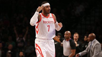 Carmelo Anthony siunčiamas į Čikagą
