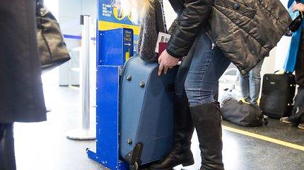 """Italija paduos """"Ryanair"""" ir """"Wizz Air"""" į teismą dėl rankinio bagažo mokesčių"""