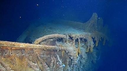 """JAV ir JK ratifikavo sutartį nuskendusio """"Titaniko"""" nuolaužoms apsaugoti"""