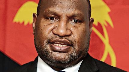 Papua Naujosios Gvinėjos premjeru išrinktas dujų kontrakto kritikas J.Marape