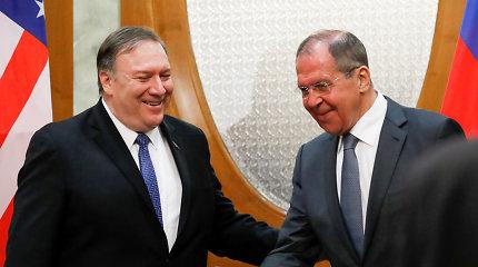 Prieš V.Putino ir M.Pompeo susitikimą Rusija ir JAV deklaruoja pasirengimą gerinti ryšius