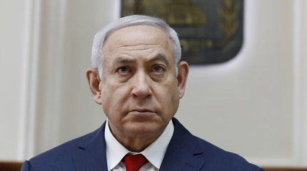 Benjaminas Netanyahu turės dar dvi savaites Izraelio vyriausybei suformuoti